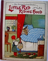SOLD  - Little Red Riding Hood - The Moving Picture Books - Pictorial Book Company