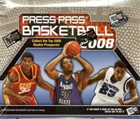 PICK A PACK 2008-09 Press Pass BK