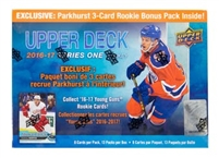 PICK A PACK 2016-17 Upper Deck Series 1 Mega Box