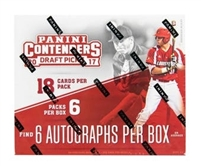 Pick a Pack 2017 Contenders Draft Baseball