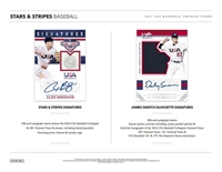 PICK A PACK 2017 Stars and Stripes Baseball
