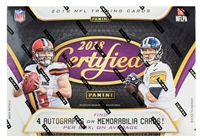 PICK A PACK 2018 Certified Football