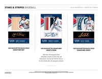 PICK A PACK 2018 Stars and Stripes Baseball