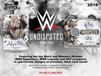 PICK A PACK 2018 Topps WWE Undisputed