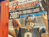 PAP 2001 Bowman Football #1