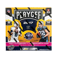 PAP 2017 Playoff Football Hobby Box #2