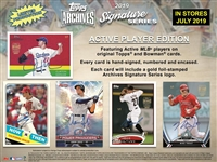 PAP 2019 Topps Archives Sig Series Active #1