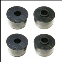 Package of (2) front and (2) rear molded cab mounting insulators for 1948-53 Dodge B-Series Trucks