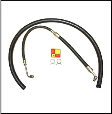 Power steering pressure hose, return hose, OE-style hose