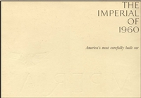 Original Sales Brochure for 1960 Imperial
