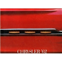 Large Original Prestige Sales Brochure for 1962 Chrysler