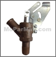 Engine-mounted cable operated heater water valve for 1941-48 Plymouth - Dodge - DeSoto - Chrysler