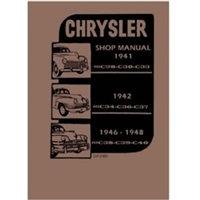 Factory Shop - Service Manual for 1941-1948 Chrysler