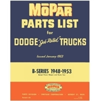 Factory Parts Manual for 1948-1953 Dodge Truck