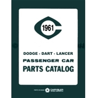 Illustrated Factory Parts Manual for 1961 Dodge Passenger Cars