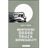 Owner's Manual for 1937-1938 Dodge Trucks