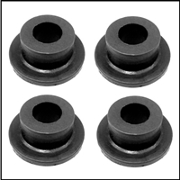 (4) molded steering gear arm insulators for 1939-48 Plymouth - Dodge - DeSoto - Chrysler