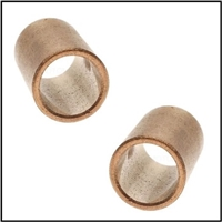 Upper and lower bronze distributor shaft bushings for all 1941-48 Plymouth - Dodge - DeSoto - Chrysler