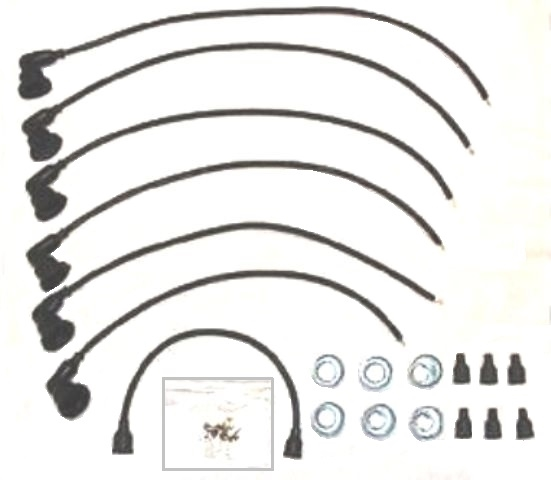 Evr-Dry Spark Plug Wires for 1954-1960 Dodge Truck Six
