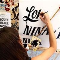 July 16 - 18 Hand Lettering Workshop
