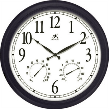 "24"" Indoor - Outdoor Wall RC Clock"