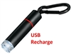 Mini LED Flashlight USB Charge