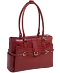 Italian Leather Womans Briefcase