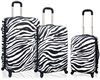 Travelers Club Safari Collection - 3pc. ABS Hard Side Expandable Luggage Set