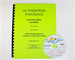 20 Christmas Favorites for steel drum