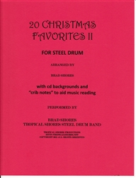 20 Christmas Favorites for steel drum volume 2
