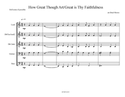 How Great Thou Art/Great is Thy Faithfulness (download only)