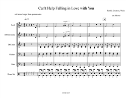 Can't Help Falling in Love with You (download only)