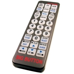 Big Button TV Remote Control