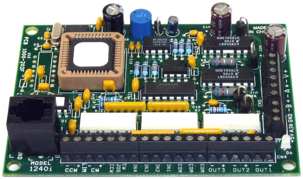 Amp Dc Microstep Drive W Si Programming 1240i Series