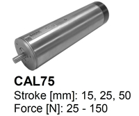 SMAC Electric Cylinders : CAL75-015-55-2 (Double Coil)
