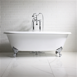 'The Wenlock' 66 Vintage Designer Cast Iron Clawfoot Bateau Bathtubs from Penhaglion.