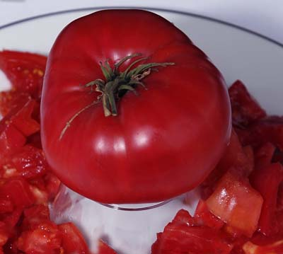 Brandywine, Purple Heirloom Tomato