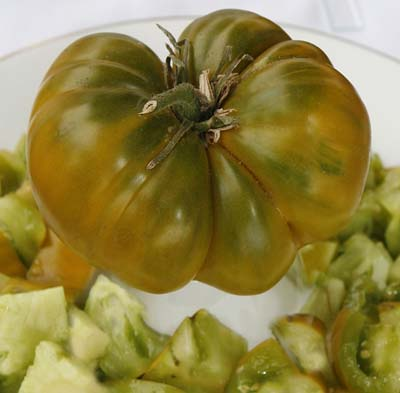 Charlie's Green Heirloom Tomato