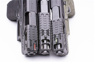The P.E.W - Port Enhanced Weapon System for Glock Slide Compensation and Barrel Porting