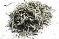 Silver Needles (Yin Zhen) organic is the premium white tea that is just buds and minimally processed.