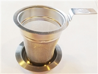 Great small stainless steel for small opening in one or two cup teapots