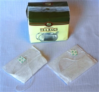 This personal tea bag is easy to fill with loose leaf tea and folds over like a sandwich bag. Great for filling with your favorite high quality tea for traveling and the office.