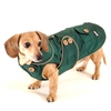 Forest Green Blizzard Dachshund Parka with Thinsulate