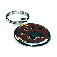 Chocolate Paw Dachshund ID Tag