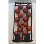 Basketball Wall-Mounted Ball Locker for Basketballs
