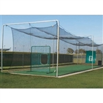 Major League Batting Tunnel Net 70L x 14W x 12H ft.