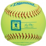 "Diamond 11"" Dizzie Youth League Fastpitch Softballs 11RYSC - 6 Dozen"