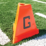 Poly Football Sideline Marker 11-Piece Set