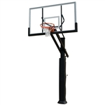 Grizzly Adjustable In Ground Heavy Duty Basketball System
