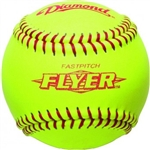 "Diamond 12"" ASA NFHS Game Fastpitch Softballs - 6 Dozen"